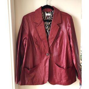 Genuine Leather Vintage 70's Style Jacket